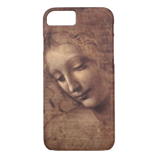 Female Head La Scapigliata by Leonardo da Vinci iPhone 7 Case