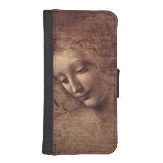 Female Head La Scapigliata by Leonardo da Vinci iPhone SE/5/5s Wallet Case