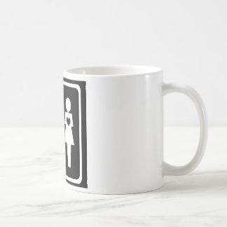 Female Heart Mens Heart Coffee Mugs