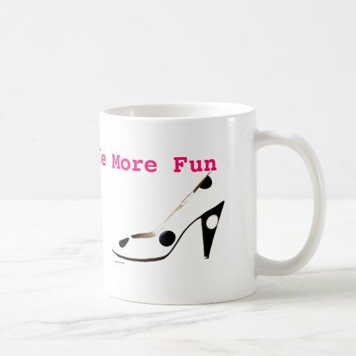 Female High Fashion Shoes coffee mug