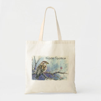 Female House Sparrow Tote Bag