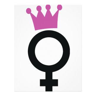 female icon flyers