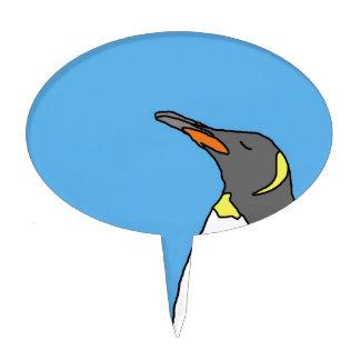 Female King Penguin Cake Topper