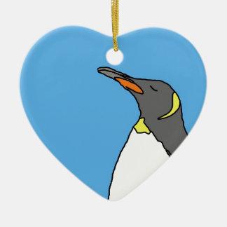 Female King Penguin Christmas Ornament