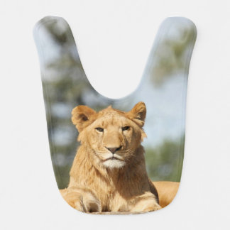 Female Lion Bib