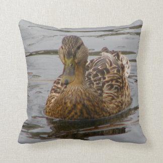 Female Mallard Throw Cushion