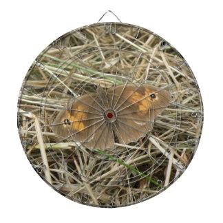 Female Meadow Brown Butterfly Dart Board