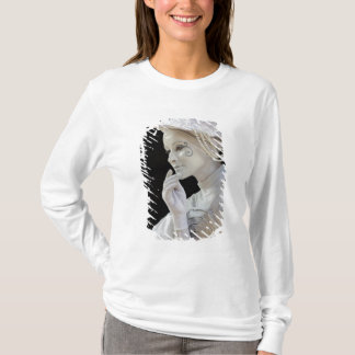 Female mime performing on street corner T-Shirt