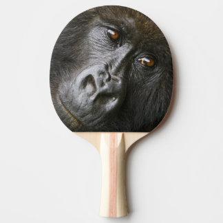 Female Mountain Gorilla Ping Pong Paddle