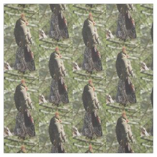 Female Northern Cardinal Fabric