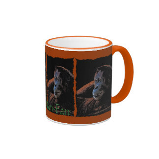 Female Orangutan Wildlife-supporter Travel Mug