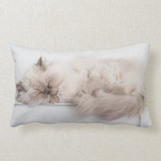 Female Persian Cat Lumbar Cushion