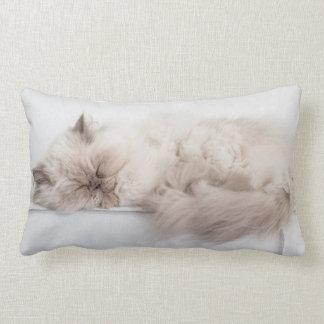Female Persian Cat Lumbar Pillow