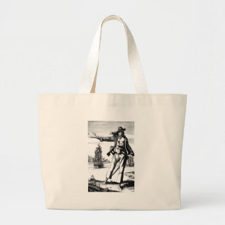 female pirate canvas bags