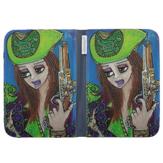 Female Pirate Chameleon Cases For The Kindle
