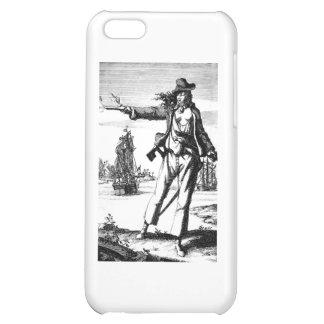 female pirate iPhone 5C case