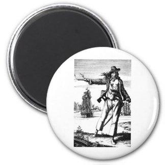 female pirate refrigerator magnets