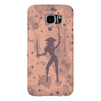 Female Pirate Samsung Galaxy S6, Barely There Case