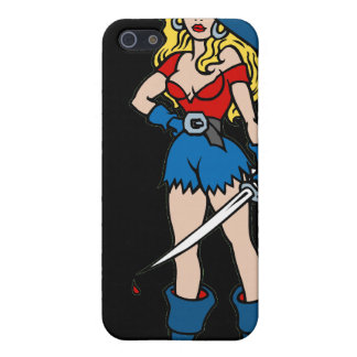 Female Pirate Too Cases For iPhone 5