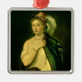 Female Portrait, c.1536 Christmas Ornament