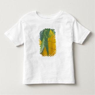 Female praying mantis with egg sac on toddler T-Shirt