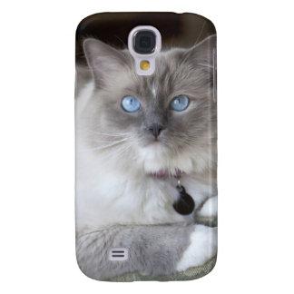 Female Ragdoll Cat Galaxy S4 Case