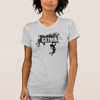 Female Rock Climbing Tee