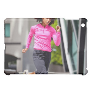 Female Runner in London Case For The iPad Mini