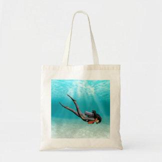 Female S.C.U.B.A. Diver Bags