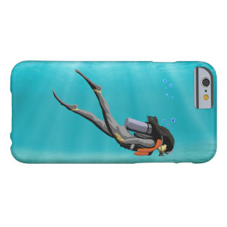 Female S.C.U.B.A. Diver Barely There iPhone 6 Case