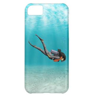 Female S.C.U.B.A. Diver iPhone 5C Case