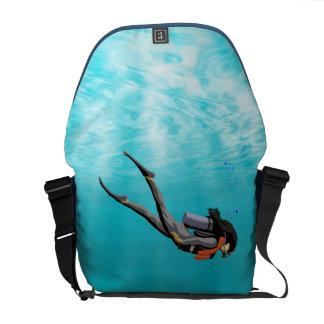 Female S.C.U.B.A. Diver Messenger Bag
