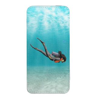 Female S.C.U.B.A. Diver