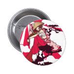 Female Samurai button