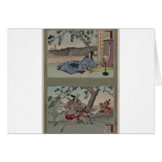 Female Samurai circa 1800s Card