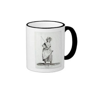 Female Sans-Culotte, 1792 Ringer Coffee Mug