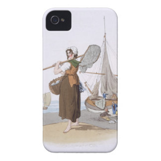 Female Shrimper, from 'Costume of Great Britain', Case-Mate iPhone 4 Case