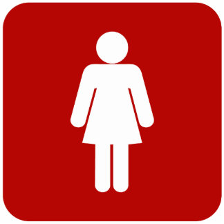 Female Sign Photo Sculpture