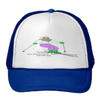 Female Skier Cap
