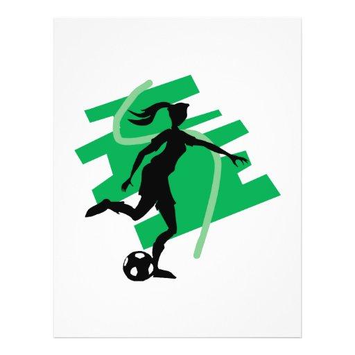 Female Soccer Flyer