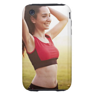 Female sports iPhone 3 tough cover