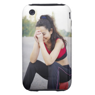 Female sports tough iPhone 3 covers