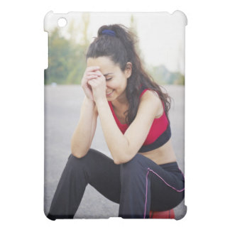 Female sports iPad mini case