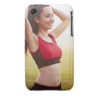 Female sports iPhone 3 Case-Mate cases