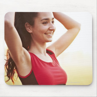 Female sports mouse mat