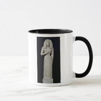 Female statue, known as the Auxerre Goddess Mug