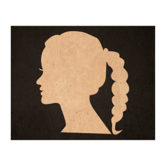 Female Straights Pictogram Photo Cork Paper