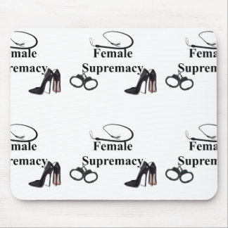 FEMALE SUPREMACY MOUSE PAD