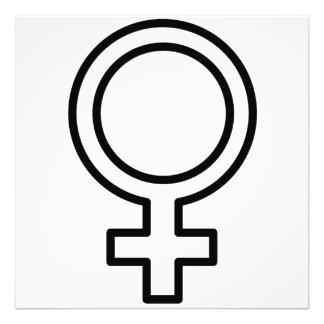 Female Symbol Photograph