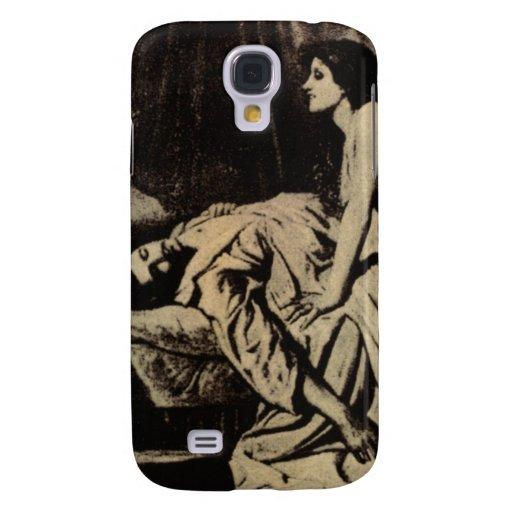 "Female Vampire Classic Art: ""le Vampire"" Samsung Galaxy S4 Cases"